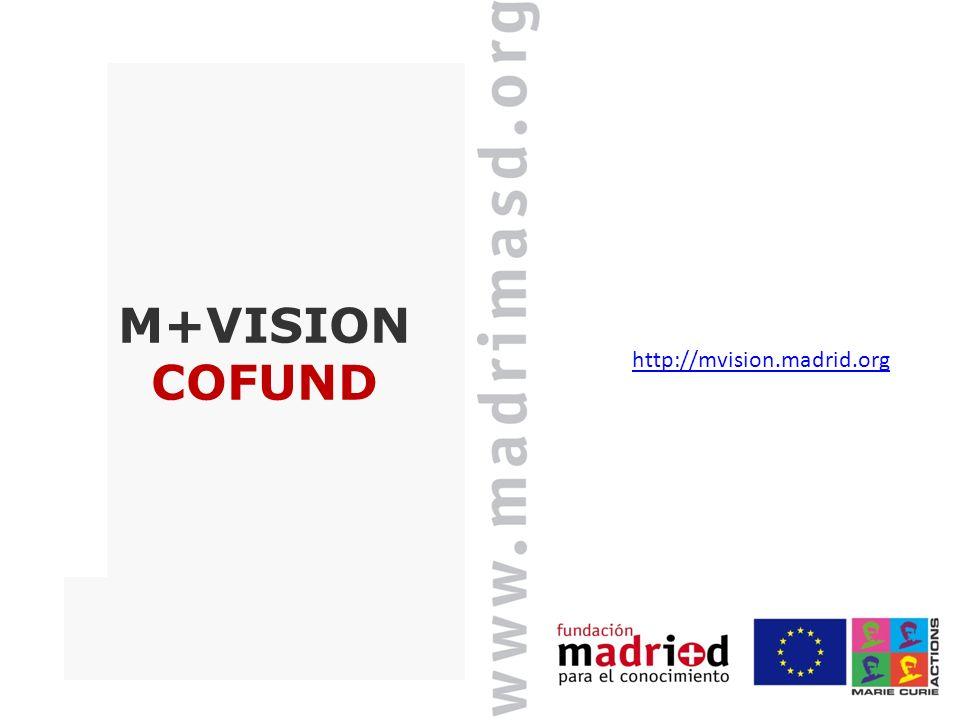 M+VISION COFUND http://mvision.madrid.org