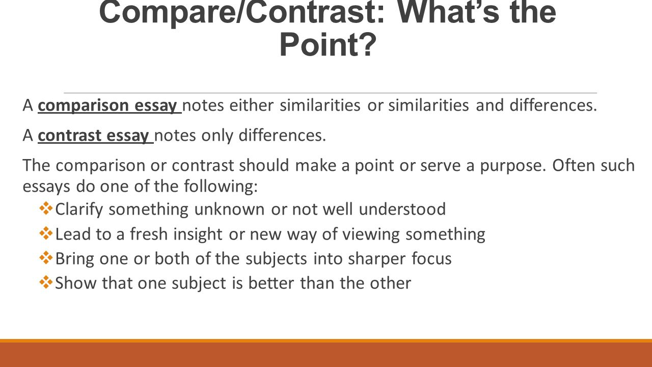 how to do a compare and contrast essay Stumped on what to write about check out these 70 compare and contrast essay topics, each with a link to a sample essay for even more inspiration.