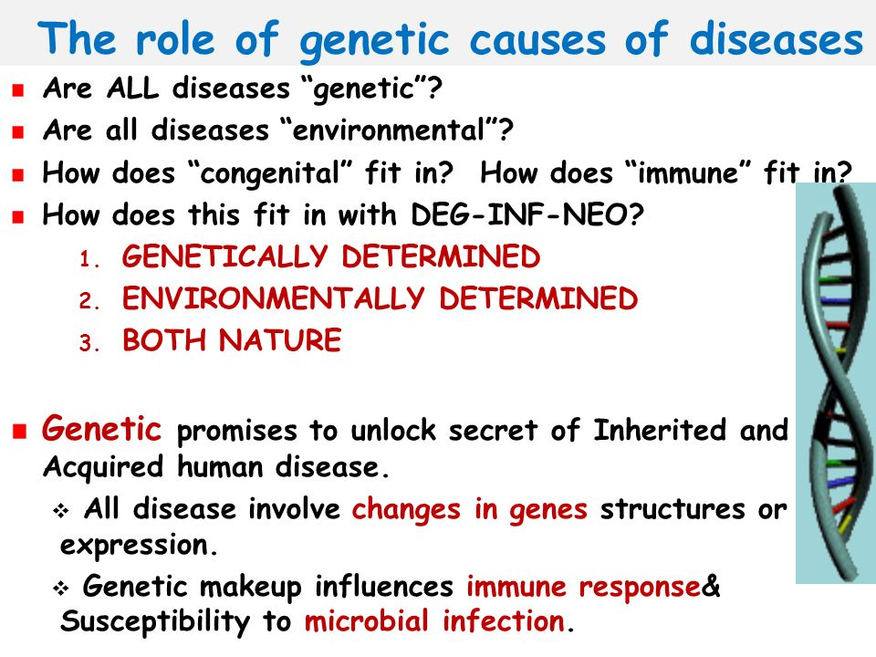 causes of diseases in humans pdf