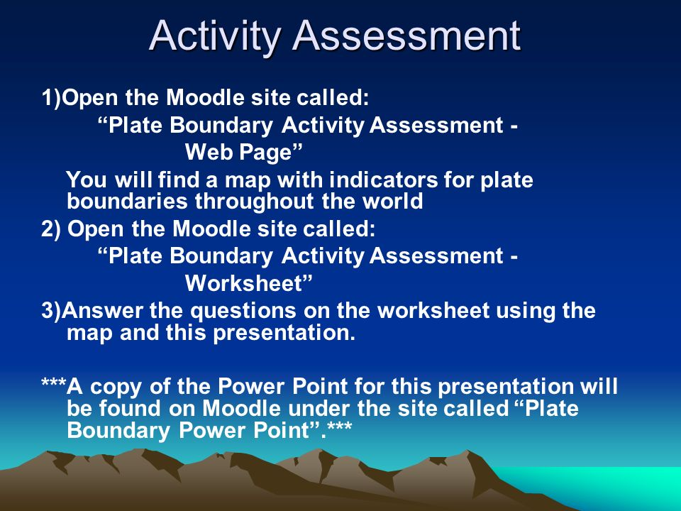 Plate Boundaries Where things happen ppt video online download – Plate Boundaries Worksheet Answers