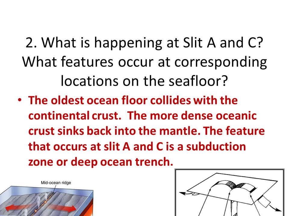 Seafloor spreading lab ppt video online download for How does subduction change the ocean floor