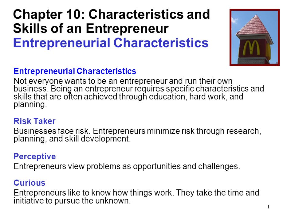 characteristics of a entrepreneur A guest post by: harrish sairaman entrepreneurs are emerging as a whole new breed in the 21st century especially with the internet multiplying its features.
