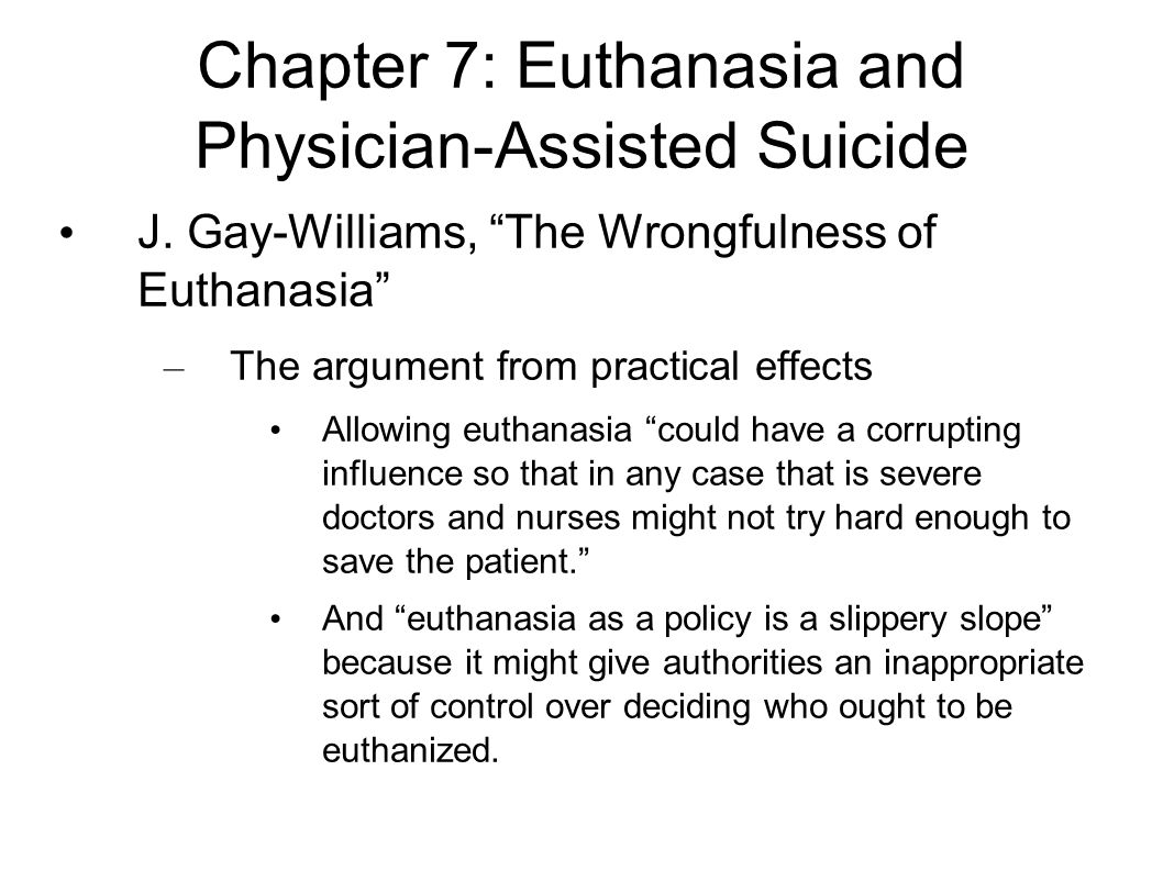 physician assisted suicide case study