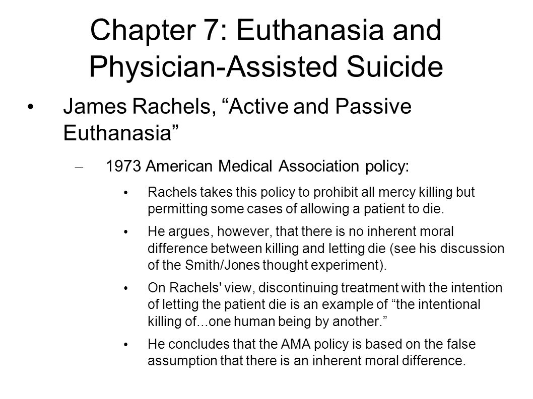 understanding euthanasia passive and active [pdf]free the right to die understanding euthanasia download book the right to die understanding euthanasiapdf human rights and euthanasia - bioethics fri, 12 oct 2018 14:15:00 gmt  this very complex and sensitive topic through analysis of the domestic regulatory environment relating to both passive and active forms of voluntary euthanasia.
