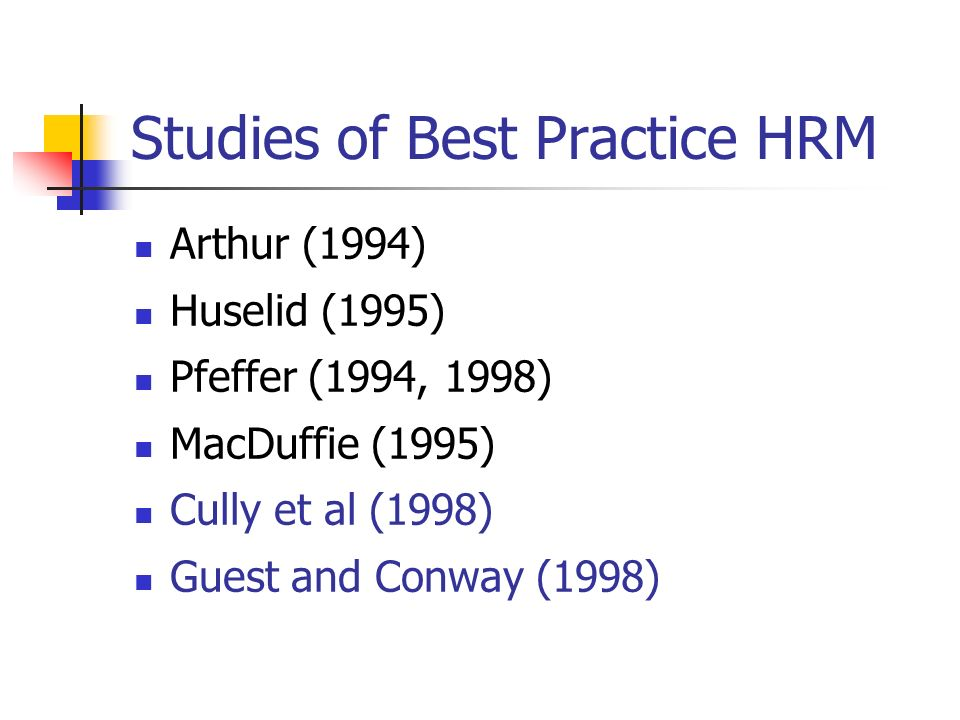 best hrm practices This article aims to determine the impact of human resource management (hrm) practices on public service motivation (psm) and organizational performance based on a survey of swiss cantonal public employees (n = 3,131), this study shows that several.