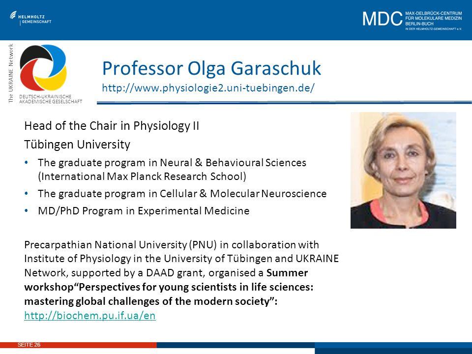 graduate program deutsch