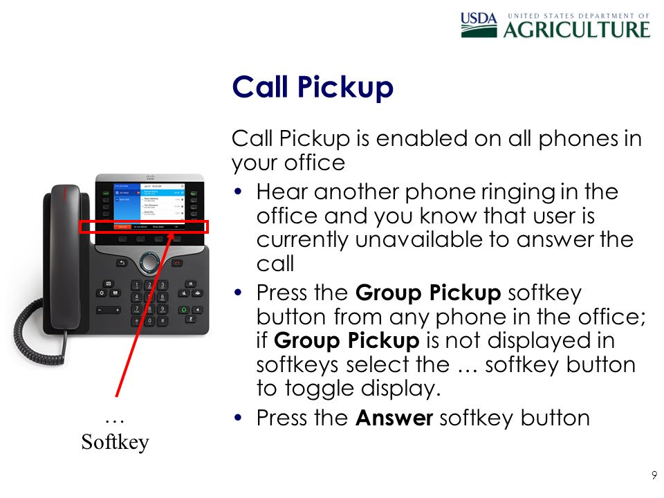Cisco call pickup group user guide