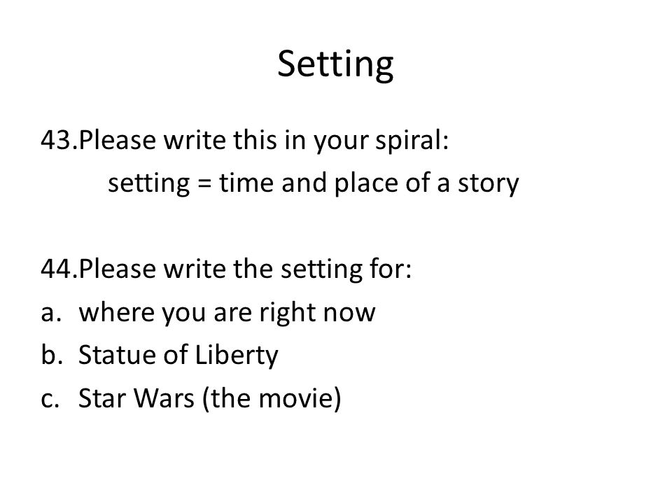 How to write in spiral