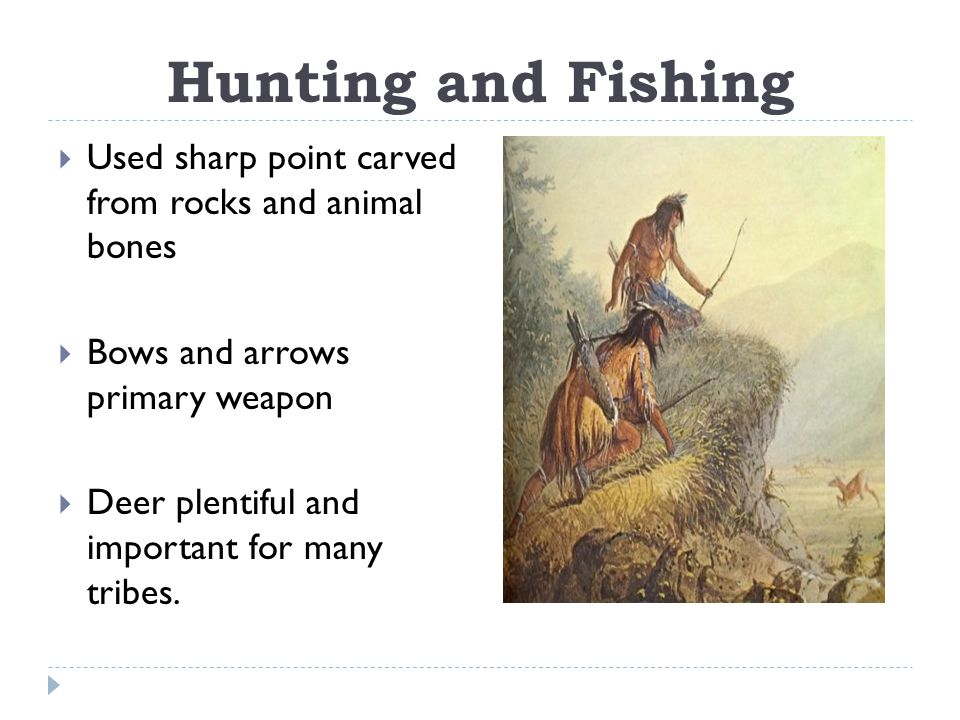 Eastern woodland native americans ppt download for Hunting and fishing times