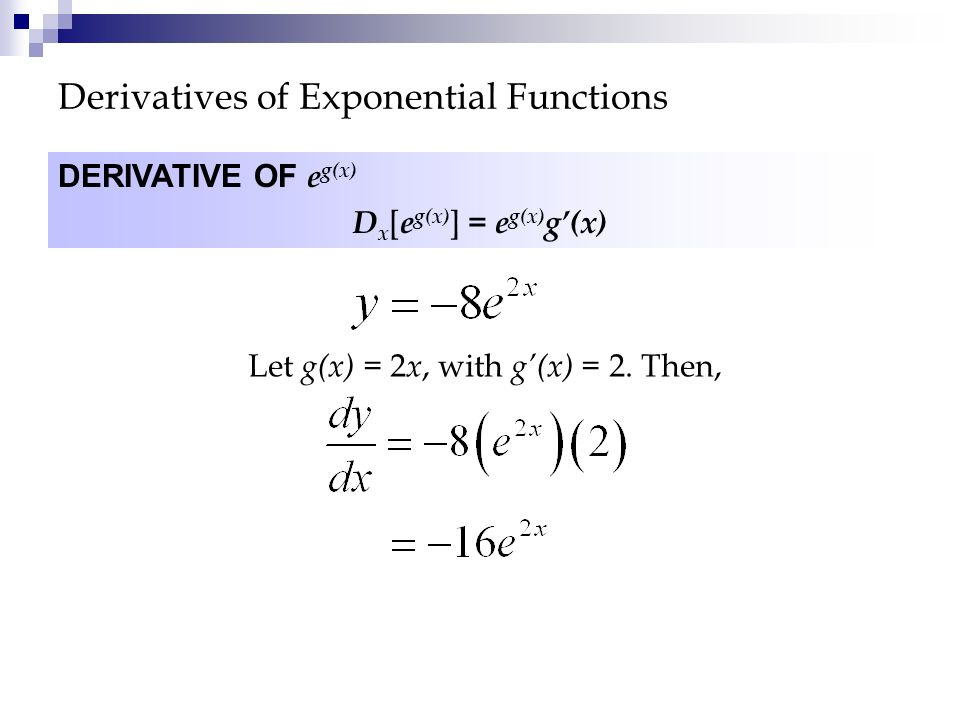 Calculating the Derivative - ppt download