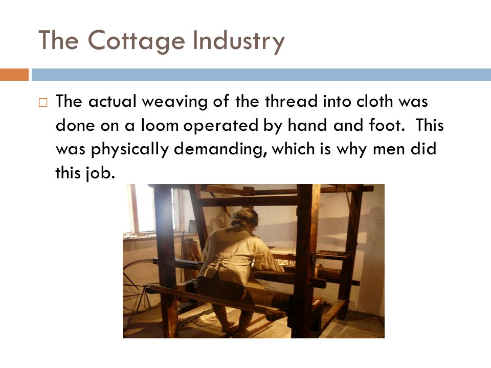 The Cottage Industry