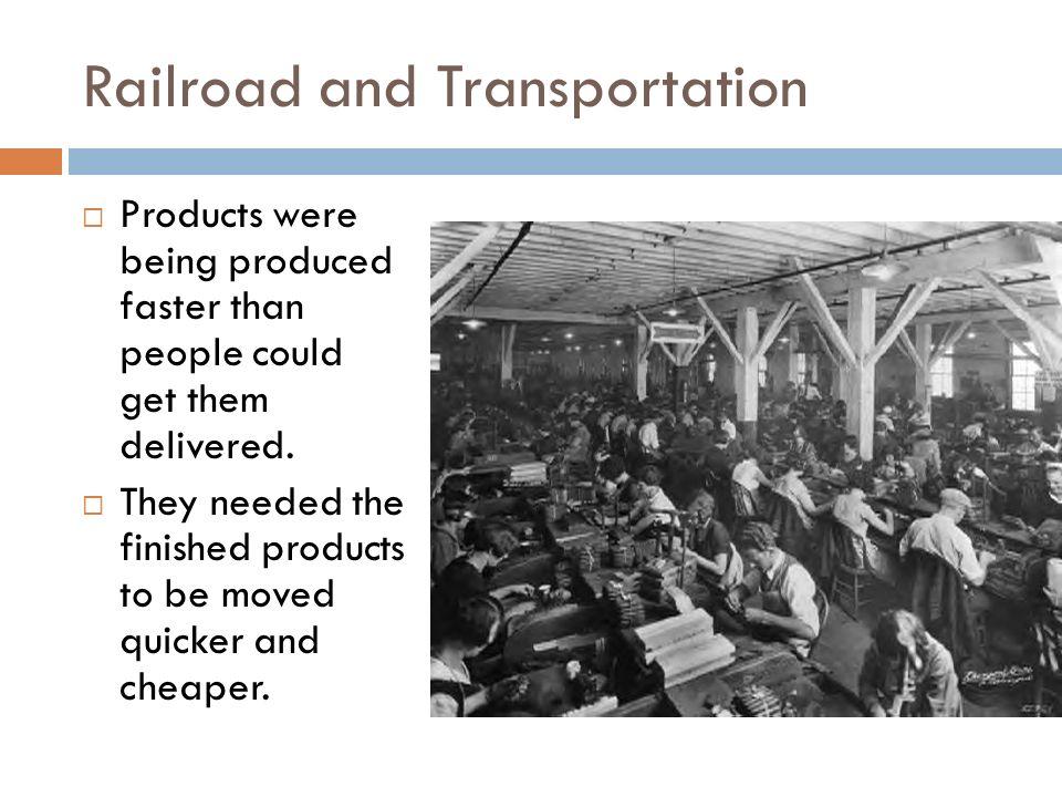 Railroad and Transportation