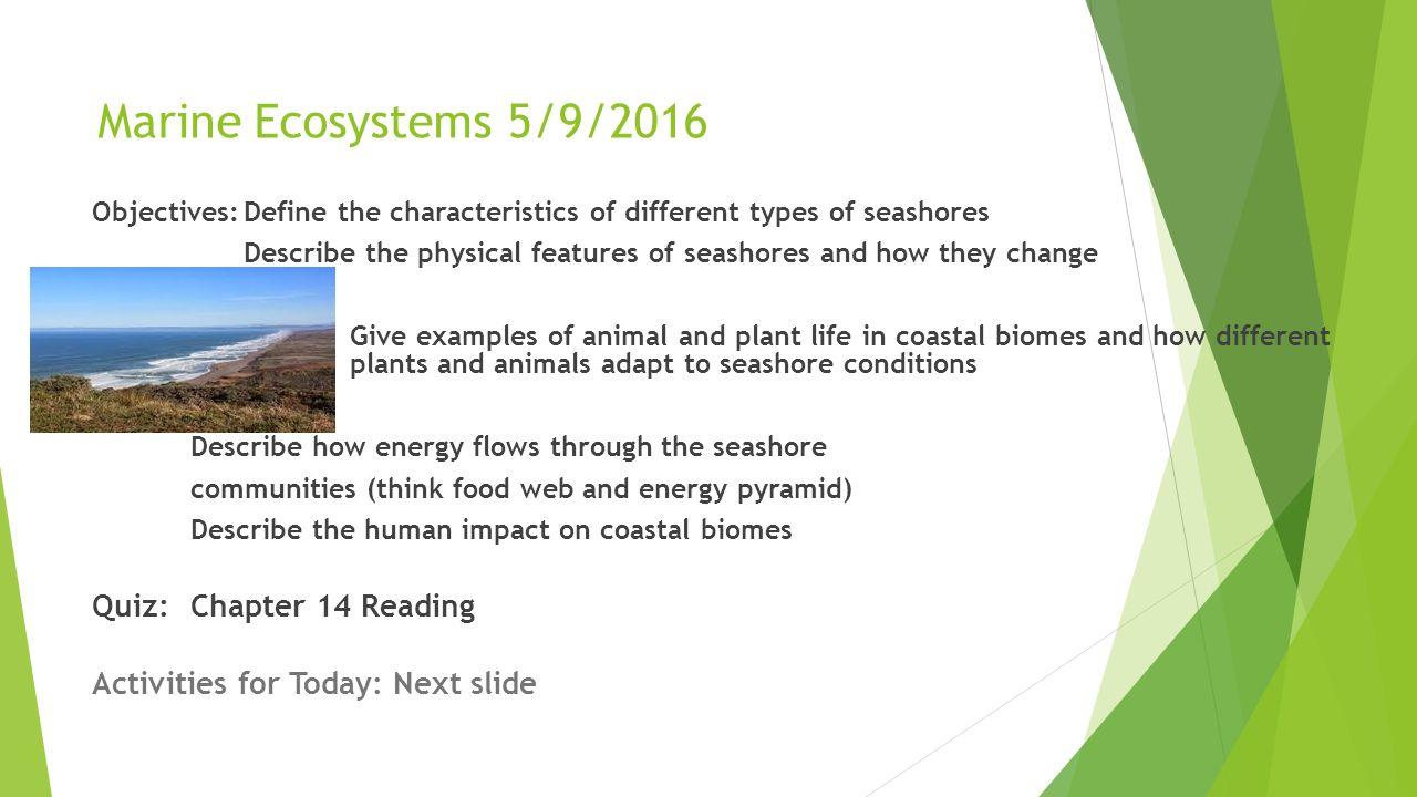marine ecosystems unit ppt download. Black Bedroom Furniture Sets. Home Design Ideas