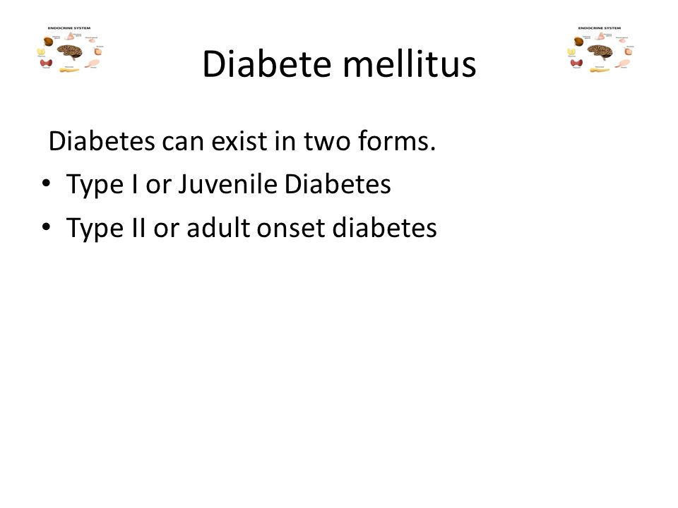 Mine, diet for adult onset diabetes
