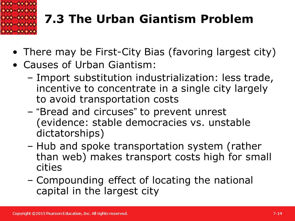 urban giantism problem Toward an urban design manifesto was prepared by alan  and discusses problems for modern urban design, followed  giantism and loss of control.