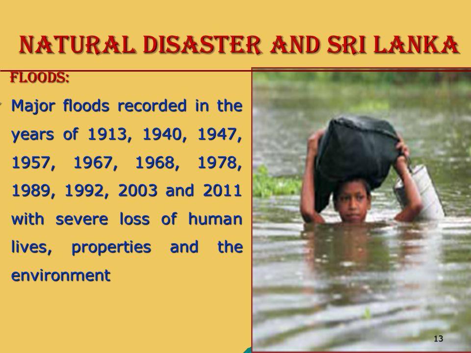 disaster management in sri lanka pdf