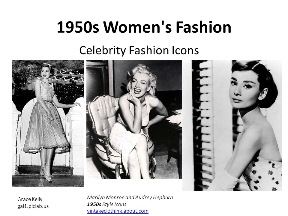 Fashion And Styles Of The 1950 S Ppt Video Online Download