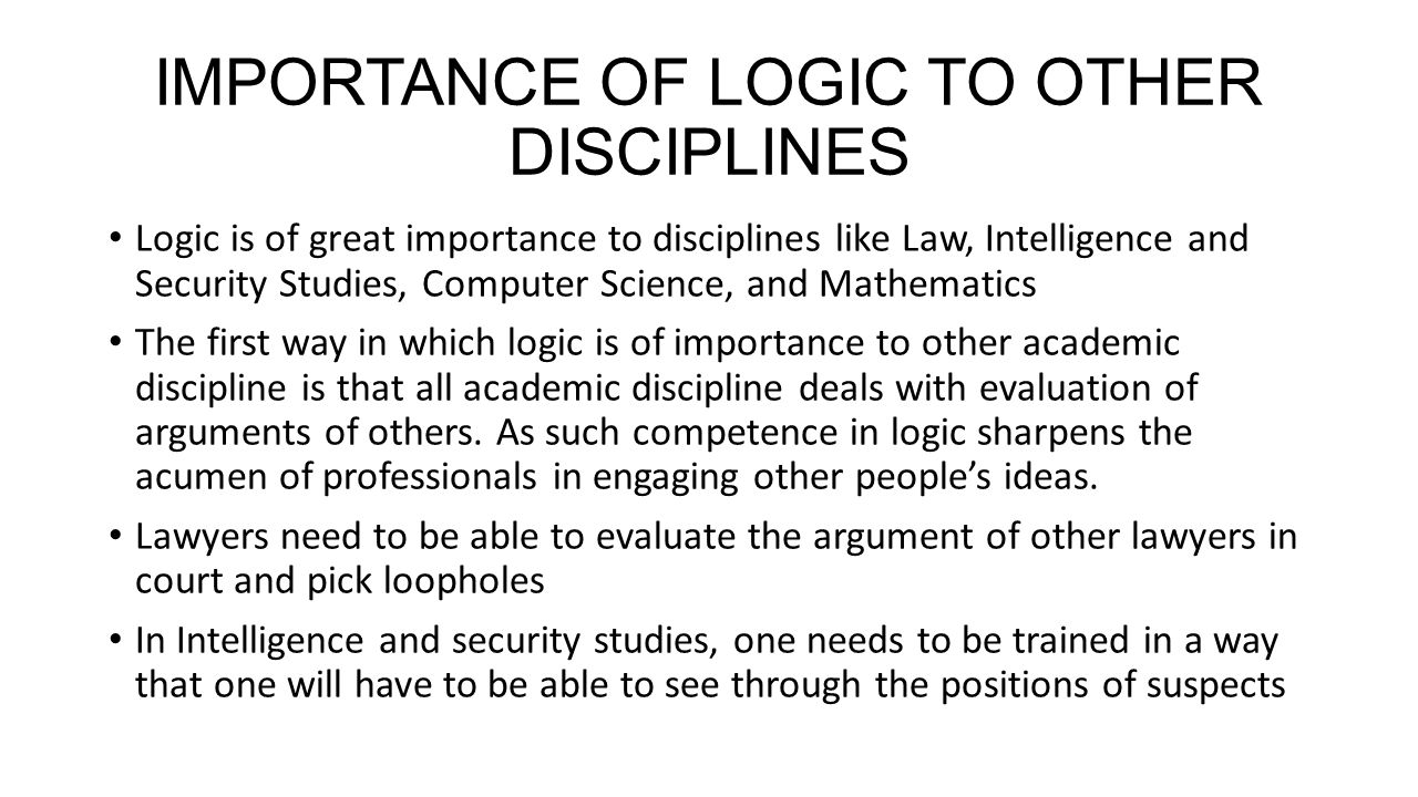 the importance of discipline in law Chapter 1 of the jag annual report 2009-2010 summarizes the importance of upholding discipline in a military environment.