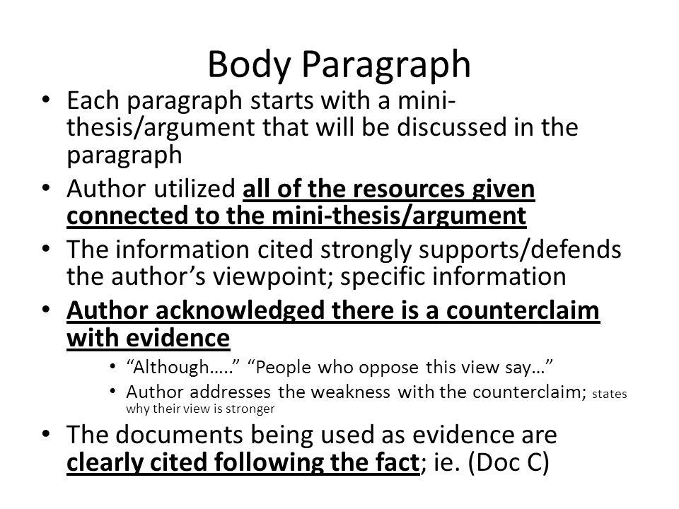mini dissertation
