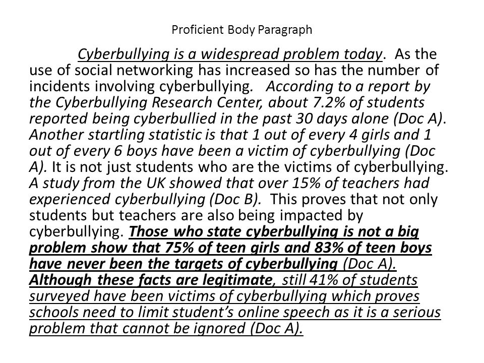 bullying research study essay Essay #4 will be a 5-7 page research paper that presents an argument about a problem or problems with the educational system.