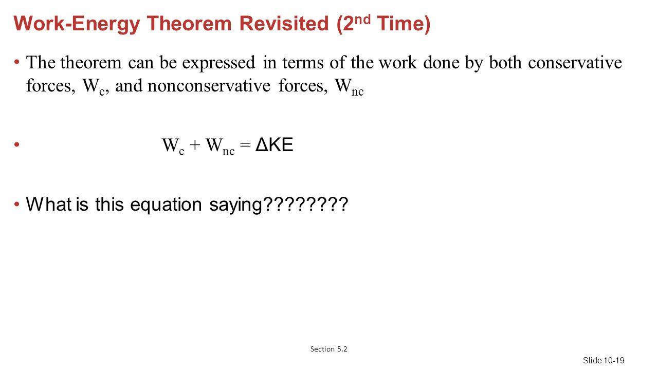 Kinetic Energy 2015 Pearson Education Inc ppt download – Work Energy Theorem Worksheet
