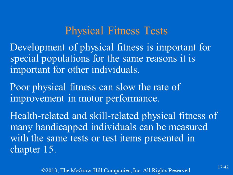 progression of physical fitness in the Progression the process of a health and performance component of physical fitness that is the ability of a muscle or muscle group to exert force v.