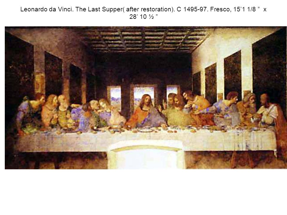the last supper elements of design In 1495, leonardo da vinci began what would become one of history's most influential works of art - the last supper the last supper is leonardo's visual.