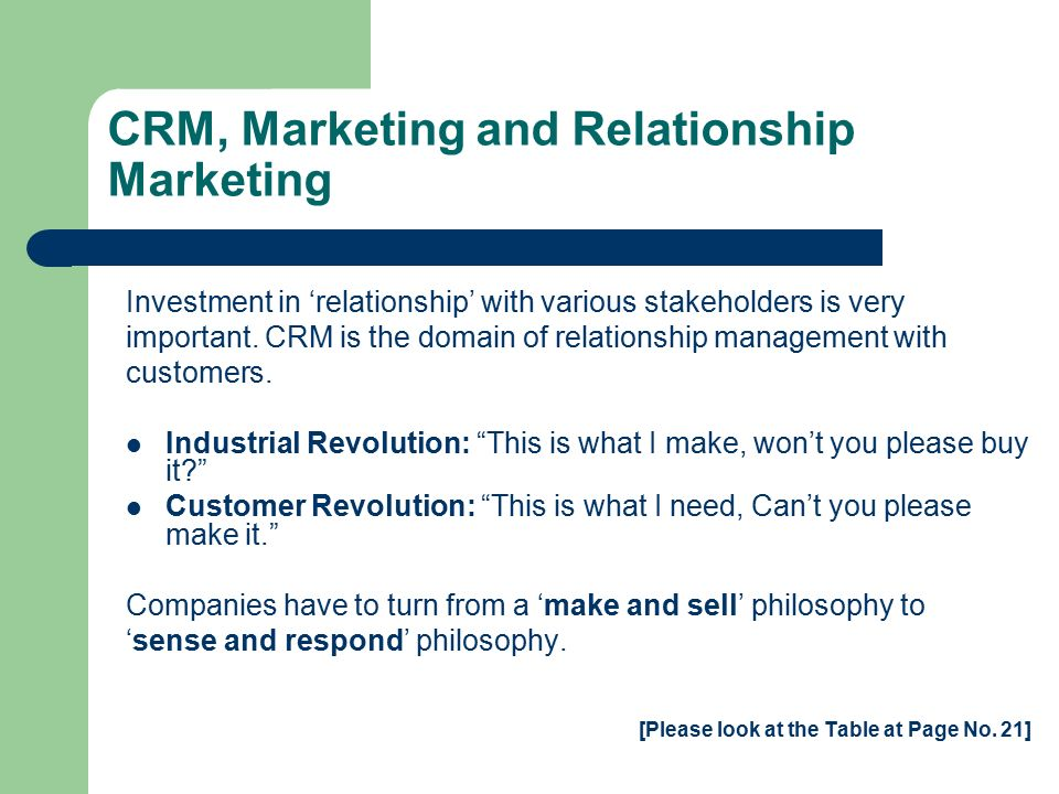 list all relationship marketing companies