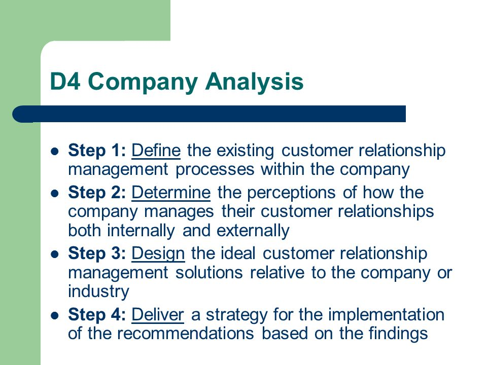 define customer relationship management strategy