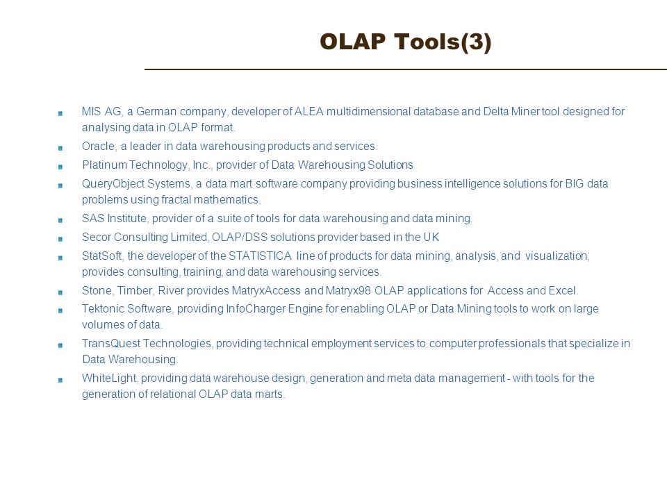 OLTP vs OLAP: What's the Difference?