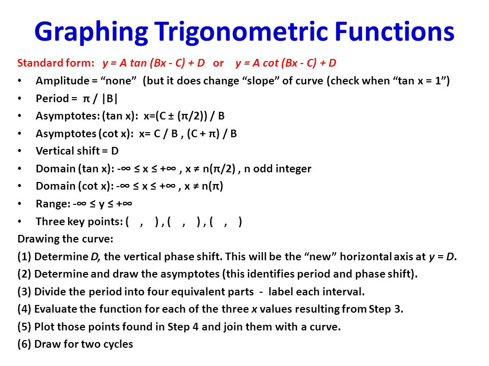 Graphing trigonometric functions ppt video online download graphing trigonometric functions ccuart Gallery