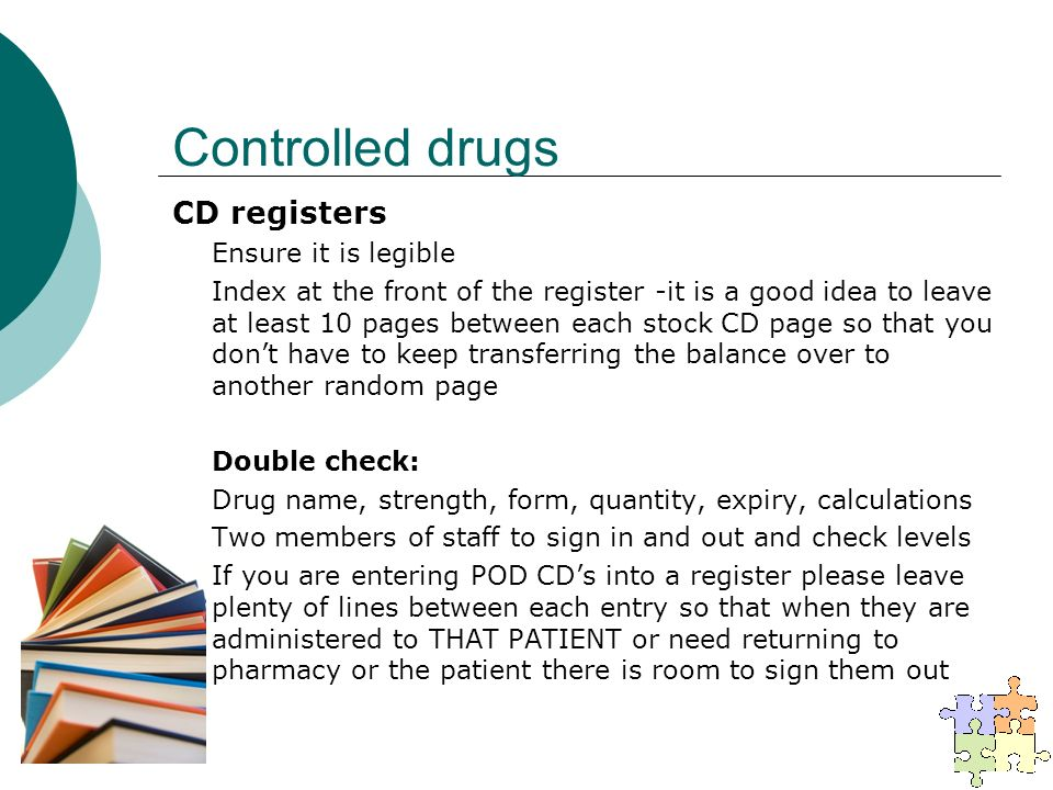 controlled drug register template - medicines management to be viewed in conjunction with nmc