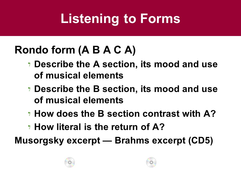 Chapter 4 Musical Form and Musical Style - ppt video online download