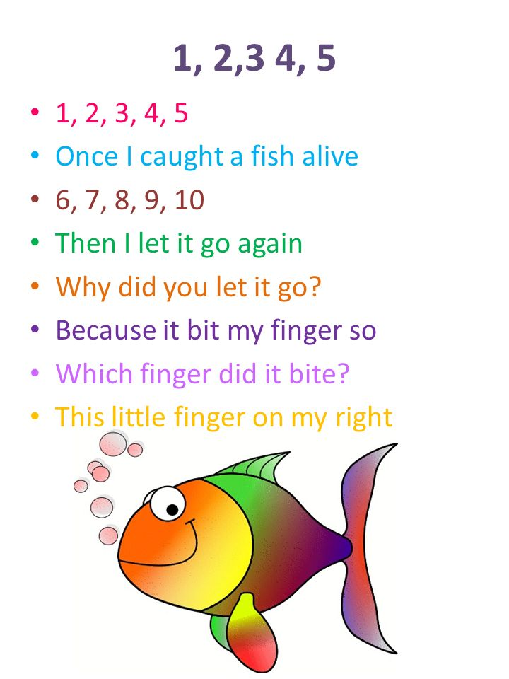 If you re happy and you know it ppt video online download for Once i caught a fish alive