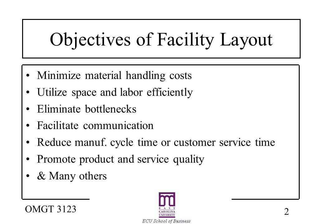 the basic types of facility layout There are different types of facility layout problems that has been detailed in the  next chapter some researchers also have classified facility.