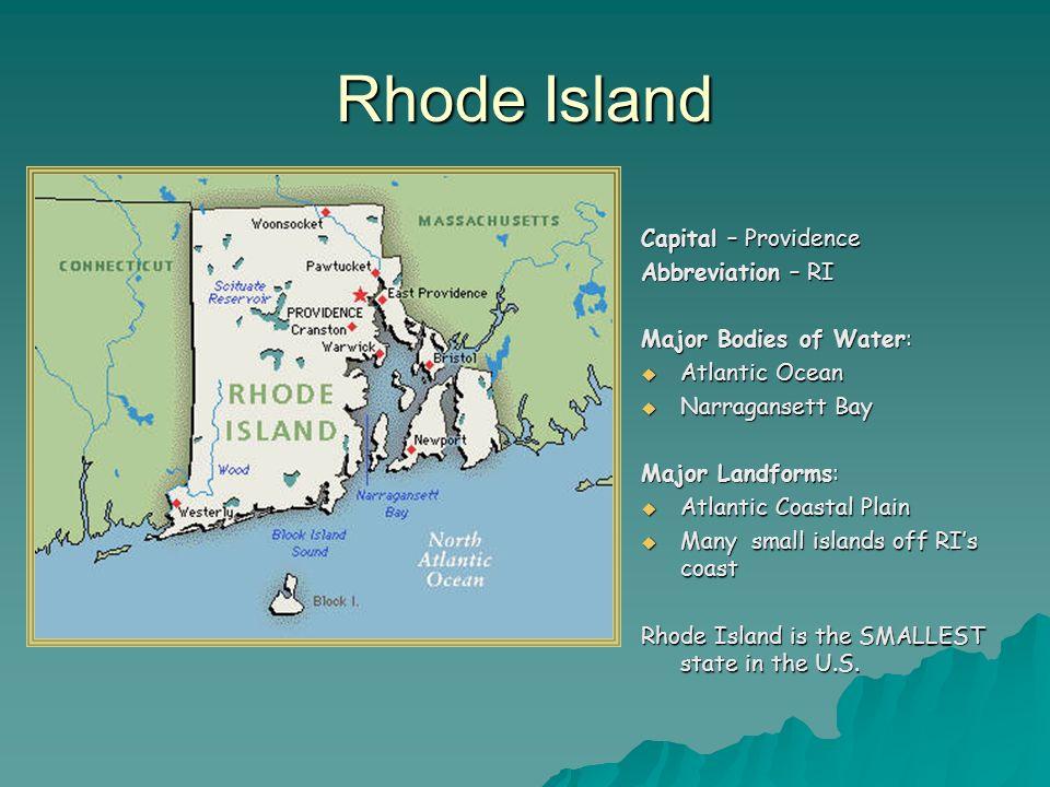 Abbreviation For Providence Rhode Island