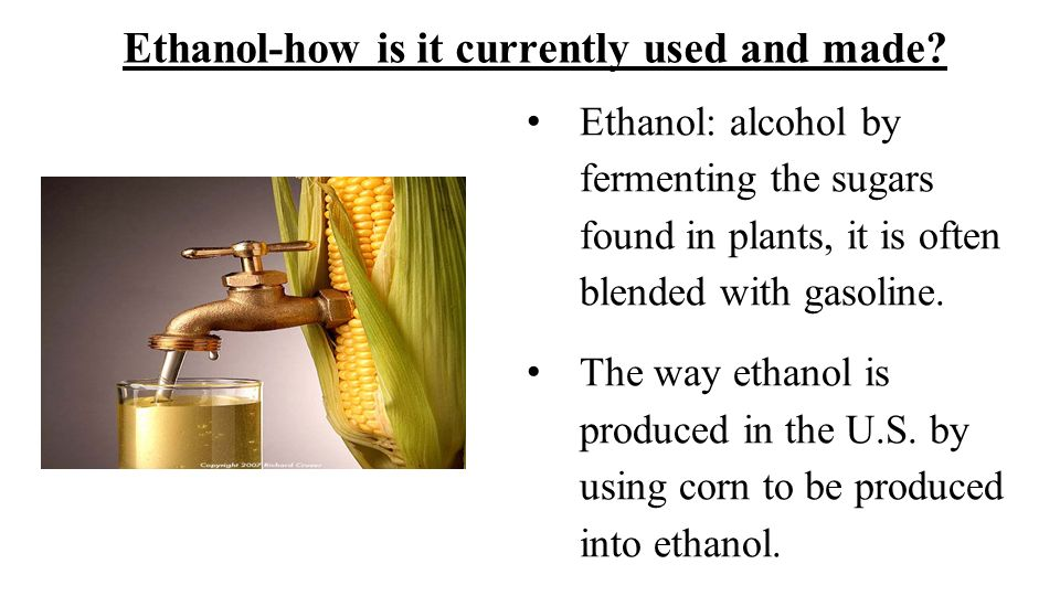 Advantages and Disadvantages of Ethanol