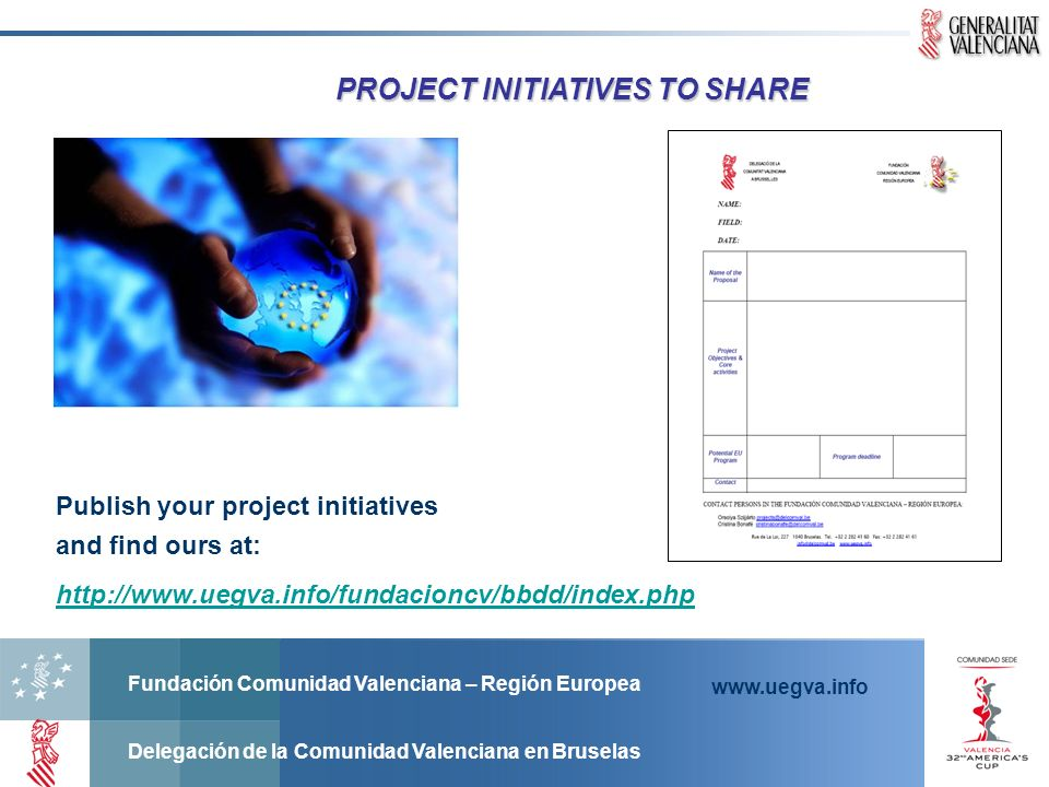 PROJECT INITIATIVES TO SHARE