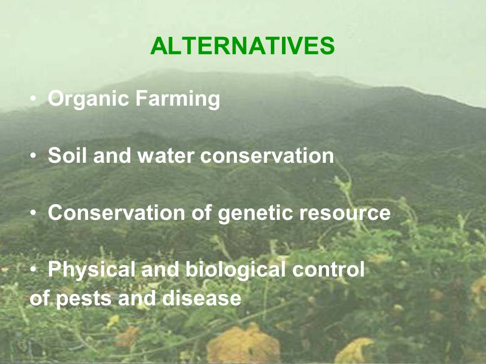 Integrated farming biosystems ppt video online download for Soil and water conservation