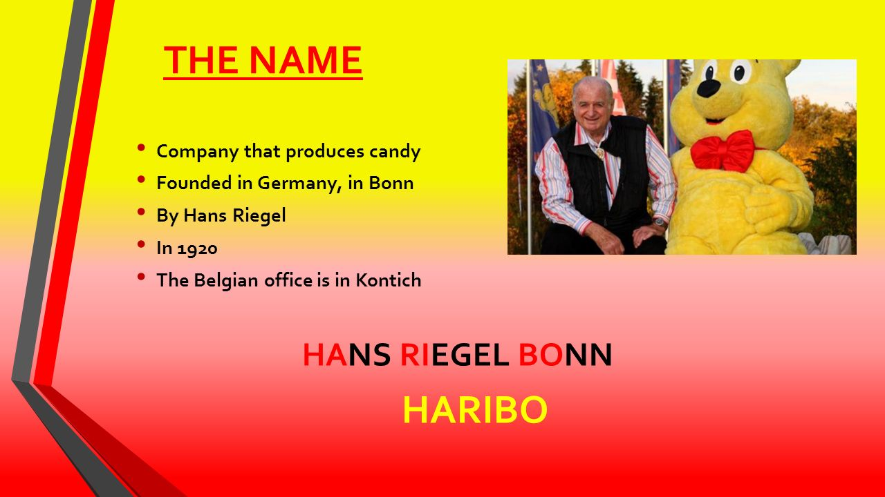 in 1920 haribo was established by Where does haribo come from haribo is a german confectionery brand and the name of a multi-nation, founded in 1920 by the confectioner hans riegel.