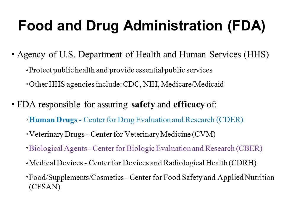 food and drug administration research paper View food and drug administration research papers on academiaedu for free.