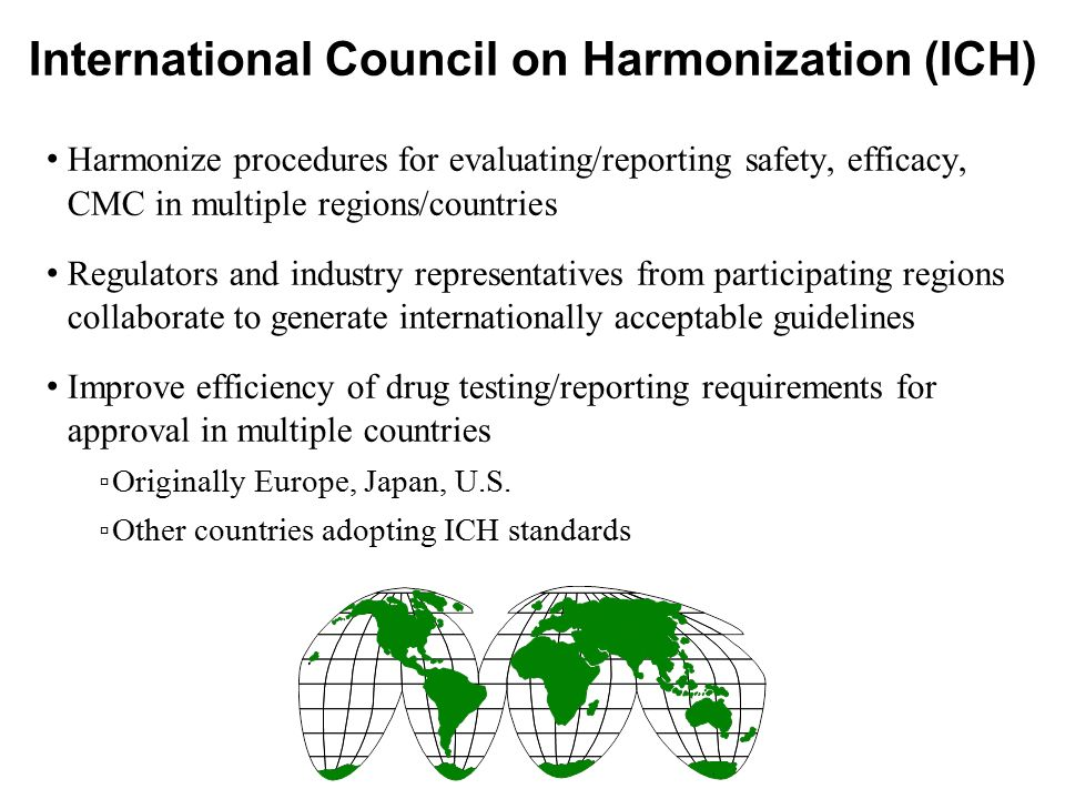 International Council on Harmonization (ICH)