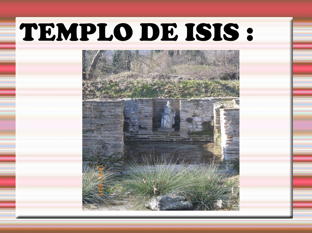 TEMPLO DE ISIS :