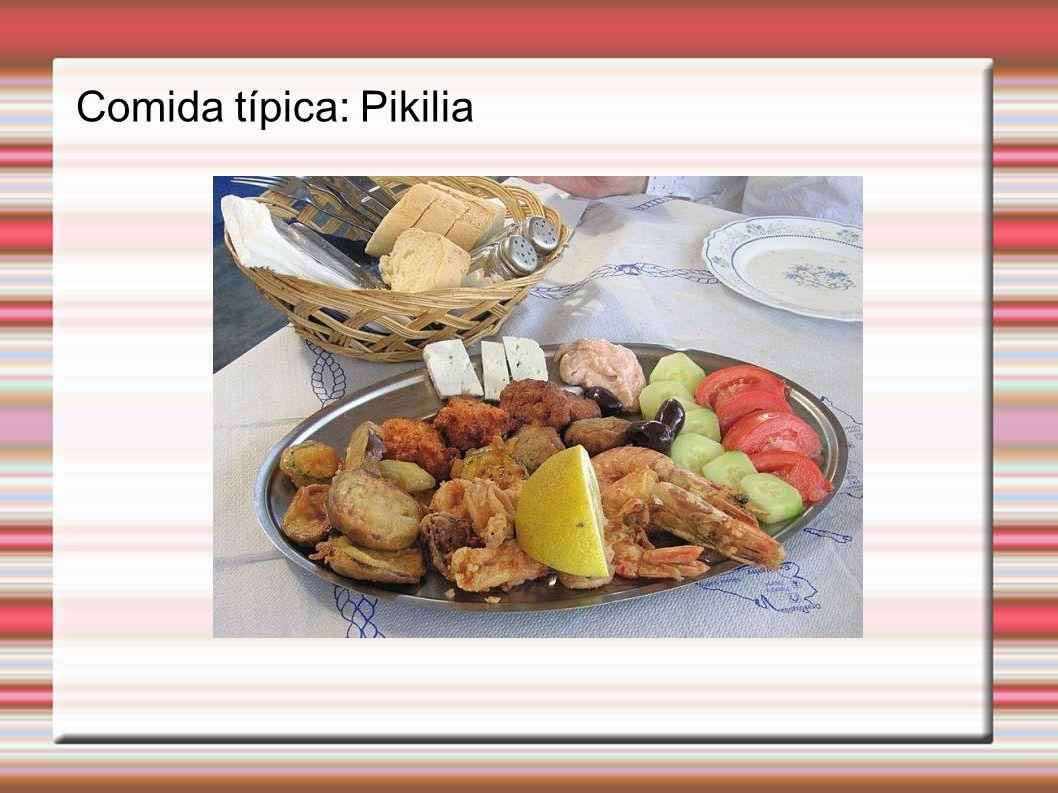 Comida típica: Pikilia