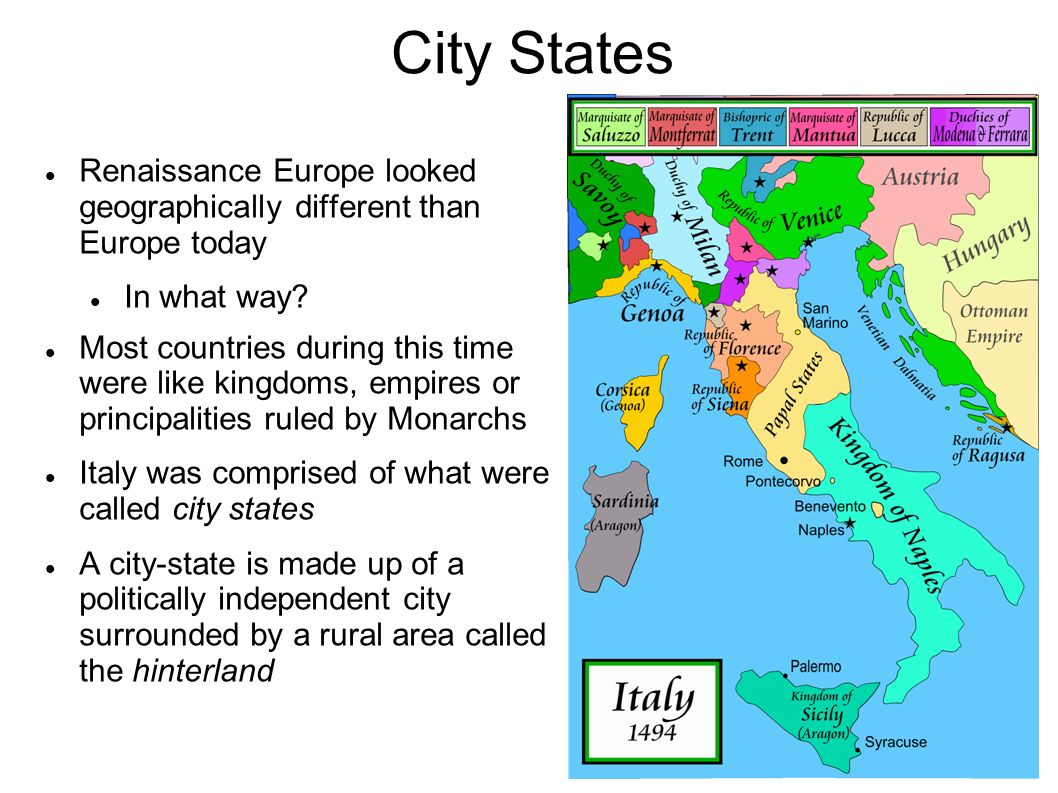 Italian city states ppt download 3 city states renaissance sciox Image collections