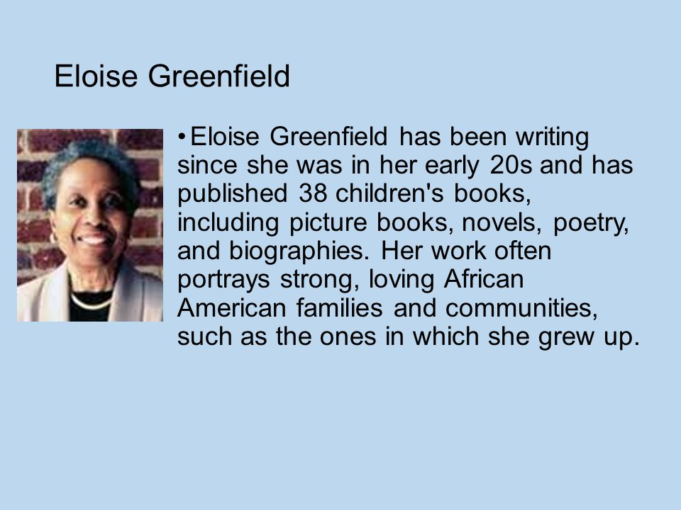 Eloise Greenfield