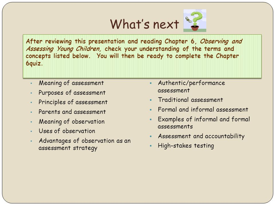 Observing And Assessing Young Children  Ppt Video Online Download