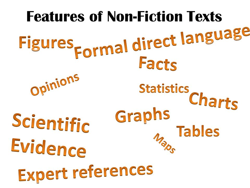 Features of Non-Fiction Texts
