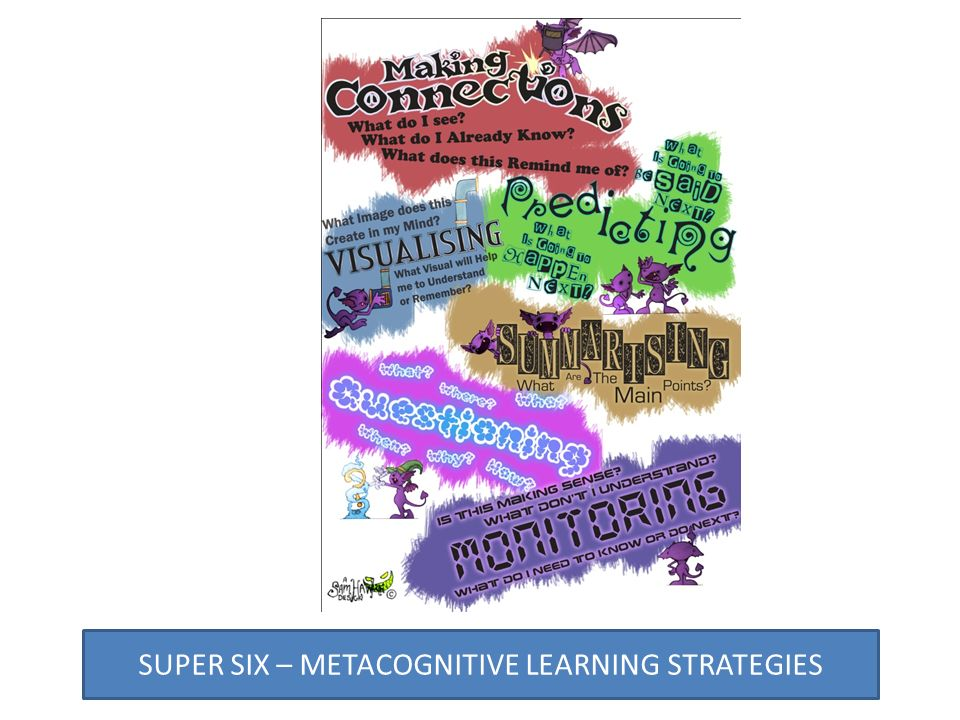 SUPER SIX – METACOGNITIVE LEARNING STRATEGIES