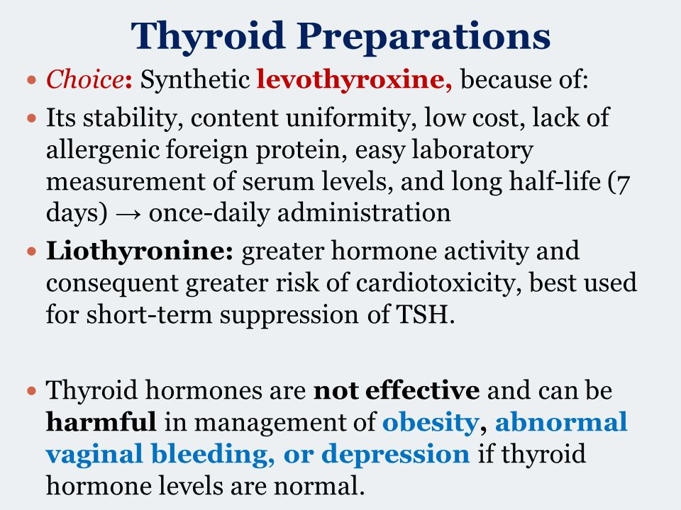 Thyroid And Antithyroid Drugs Ppt Video Online Download